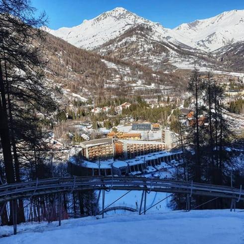 Cosa fare in inverno in Val di Susa - Alpine-roller-coaster Bardonecchia