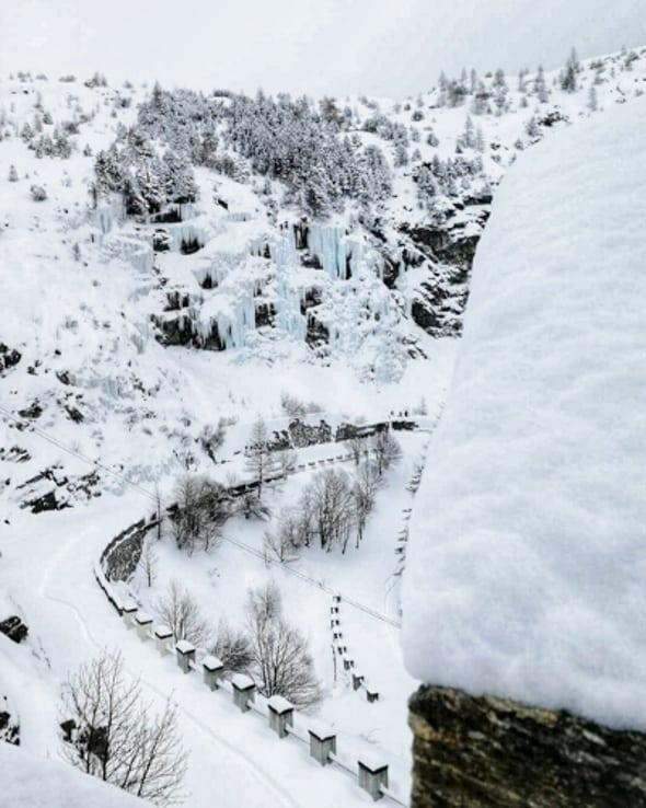 Escursioni con le ciaspole Val di Susa (6 di 7)