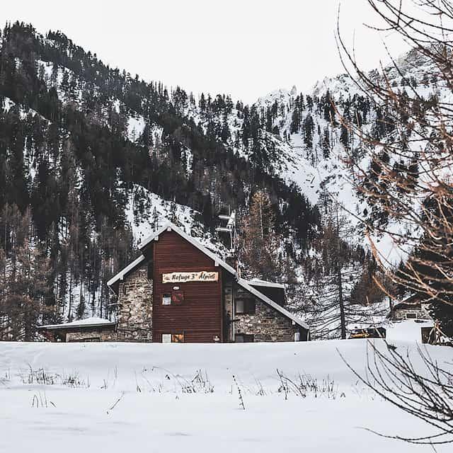 Rifugi aperti d'inverno in Val di Susa, Rifugio Terzo Alpini