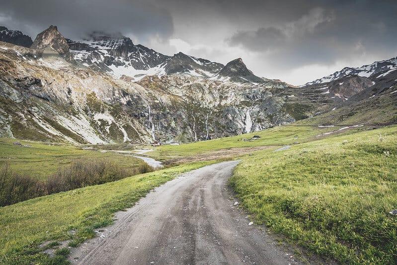 Lago diga di Rochemolles in Val di Susa (1)